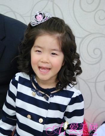 韩国儿童时尚公主头 宝宝值得拥有