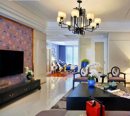 新中式风格家居装修效果图