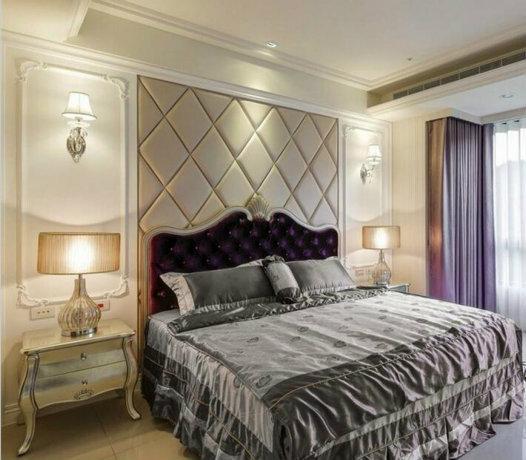 新古典卧室水性科天装修效果图