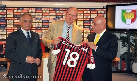 妮维雅男士品牌进军足球领域 成为米兰顶级赞助商